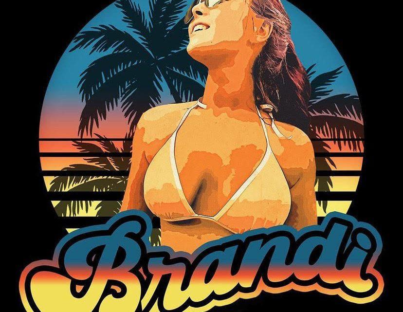 Black Tropical Brandi Lauren Shirt